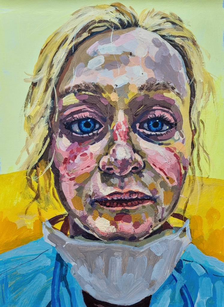 Portrait of a Covid Nurse